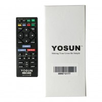 YOSUN Replaced New Remote Control RMT-B126A for Sony BD Blu-Ray DVD Player