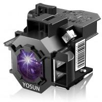 YOSUN V13H010L42 Lamp Bulb for Epson Home Cinema PowerLite 83+ 83C 410W 400W 822P EB-400WE;EMP-400WE 410W 822H 83H EX90 for ELPLP42 Replacement Projector Lamp Bulb