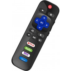 YOSUN RC280 for TCL Roku TV Remote, Universal Remote Control for TCL Roku Smart LED TV, with Shortcut Buttons for Disney, Netflix, Roku Channel and Hulu